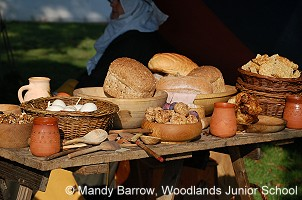 Anglo saxon life food and drink for Ancient greek cuisine history