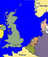 Map Of Uk 1066.The Battle Of Stamford Bridge 1066 Ad