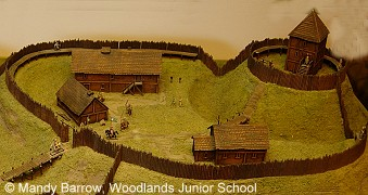 motte and bailey castle primary homework help
