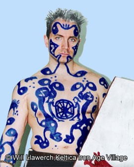 Woad Body Paint