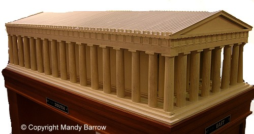 Model of the Parthenon in the British Museum