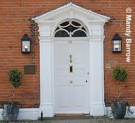 Front Door Pillars \\u0026 Craftsman Style Front Entrance More Pezcame. & Front Door Pillars \u0026 Stock Photo - Stylish Wooden Front Door ... Pezcame.Com