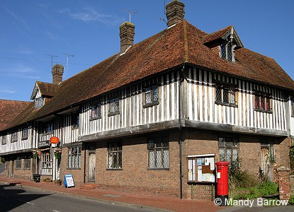 ... brick. These type of chimneys are only found on 'rich' Tudor houses
