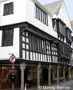 This is a Tudor style hotel. The building used to be stables for Hever ...