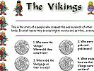 Primary homework help vikings