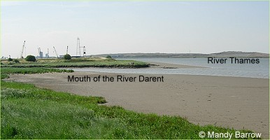 Mouth of the River Darent