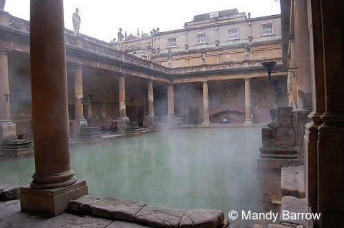 Roman baths Empire bathrooms