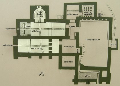 Roman Baths – Roman Bath House Floor Plan