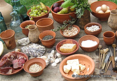 Image result for roman food ks2