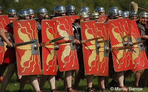 Roman War Shields for Pinterest