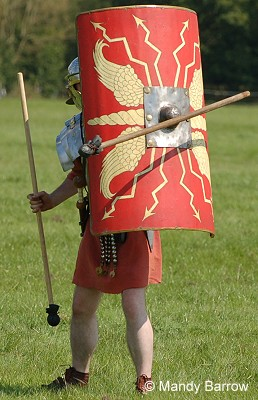 Roman army training