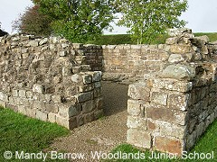 primary homework help hadrians wall