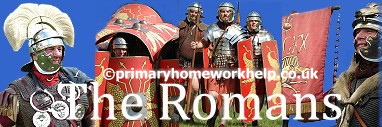 On a march the Romans lived in tents