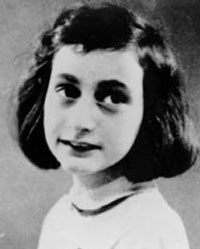 How did Anne Frank die?