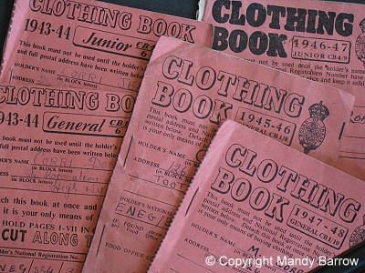photograph about Ration Book Ww2 Printable identified as Dresses Rationing