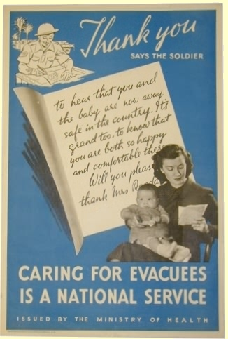 Evacuation ww2 homework help