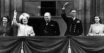 The British Royal Family during the War